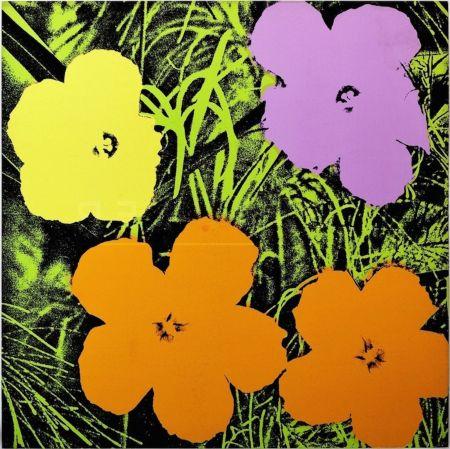 Serigrafía Warhol - Flowers (Fs Ii.67)
