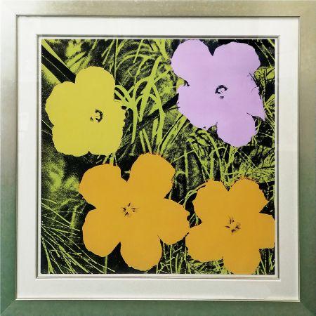 Serigrafía Warhol - FLOWERS FS II.67