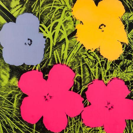 Serigrafía Warhol - Flowers (FS II.73)