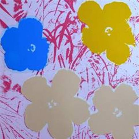 Serigrafía Warhol (After) - Flowers Ii