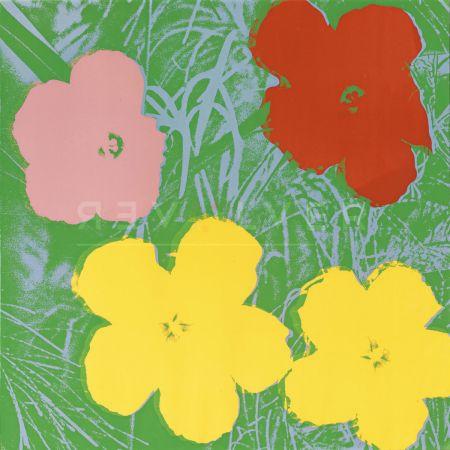 Serigrafía Warhol - Flowers, Yellow (Fs Ii.65)
