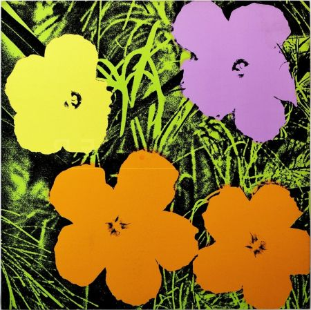 Serigrafía Warhol - Flowers(Fs Ii.67)