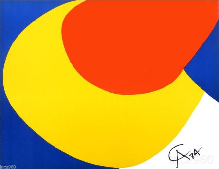 Litografía Calder - Flying Colors I