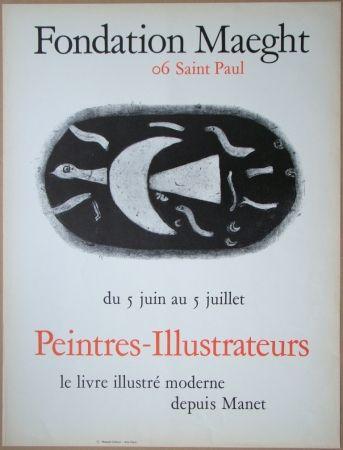 Litografía Braque - Fondation Maeght