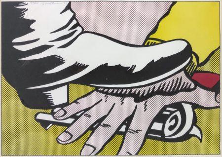 Litografía Lichtenstein - FOOT AND HAND