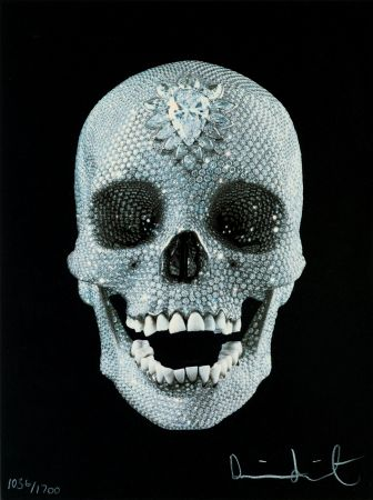 Serigrafía Hirst - FOR THE LOVE OF GOD,BELIEVE