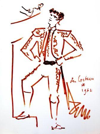 Litografía Cocteau - Force