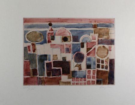 Aguafuerte Y Aguatinta Bargheer - Forio d'Ischia