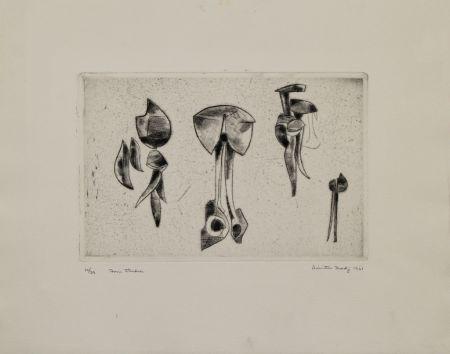 Grabado Hadzi - Form Studies