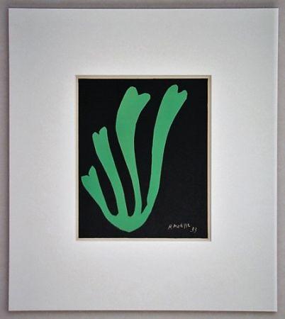 Litografía Matisse - Fougère - 1953