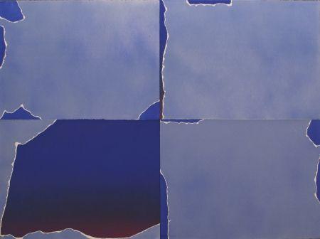 Litografía Goode - Four Part Torn Cloud