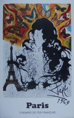 Grabado Dali - France : Paris (Sncf)
