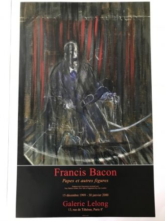 Cartel Bacon - Francis Bacon - Galerie Lelong Exhibition Poster - Screaming Pope