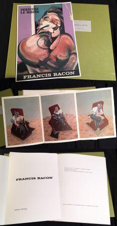 Libro Ilustrado Bacon - FRANCIS BACON : DERRIÈRE LE MIROIR N° 162 (1966). TIRAGE DE LUXE SUR RIVES.