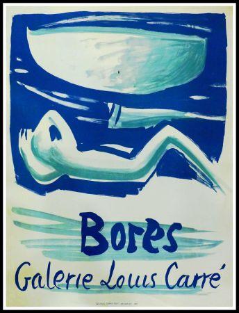 Cartel Bores - FRANCISCO BORES - GALERIE LOUIS CARRÉ