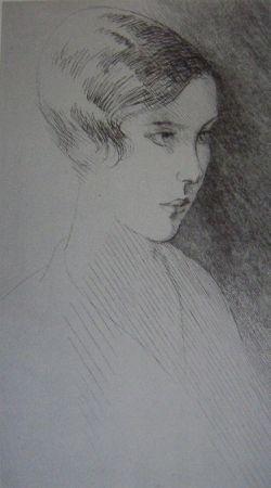 Aguafuerte Marcoussis - Francoise Pomey