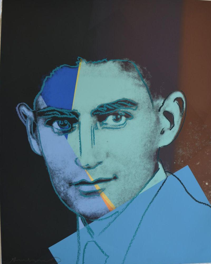 Serigrafía Warhol - Franz Kafka TP