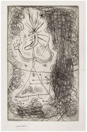 Aguafuerte Miró -