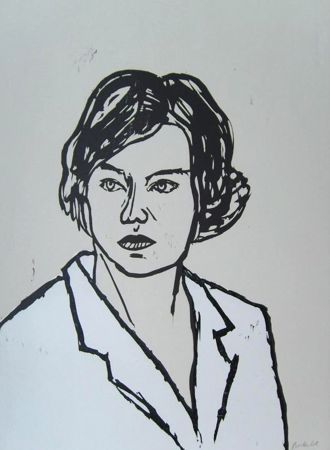 Grabado En Madera Balkenhol - Frau
