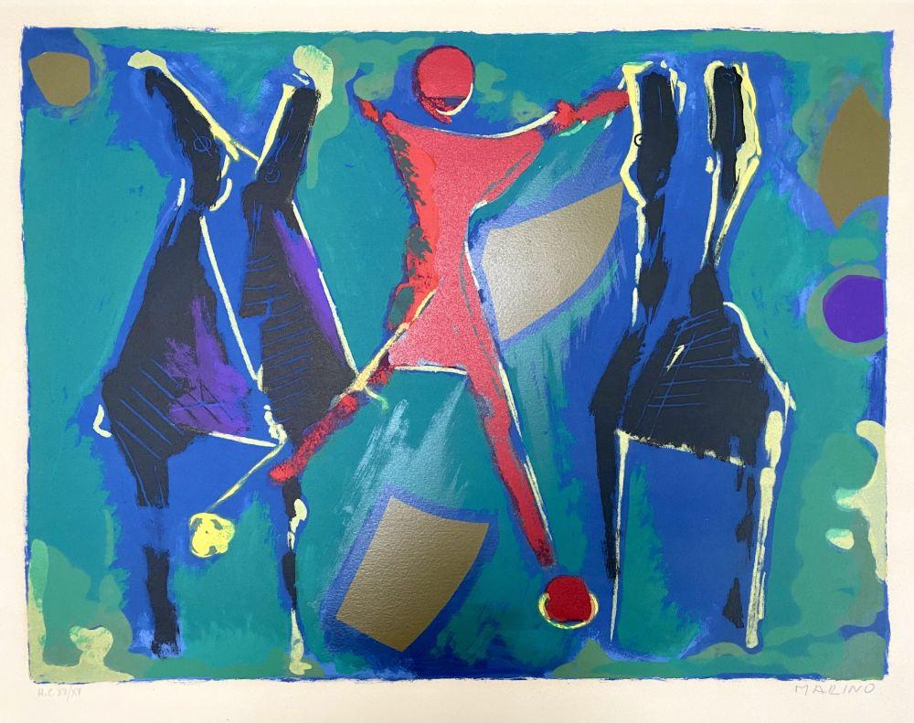 Litografía Marini - From Color to Form VII