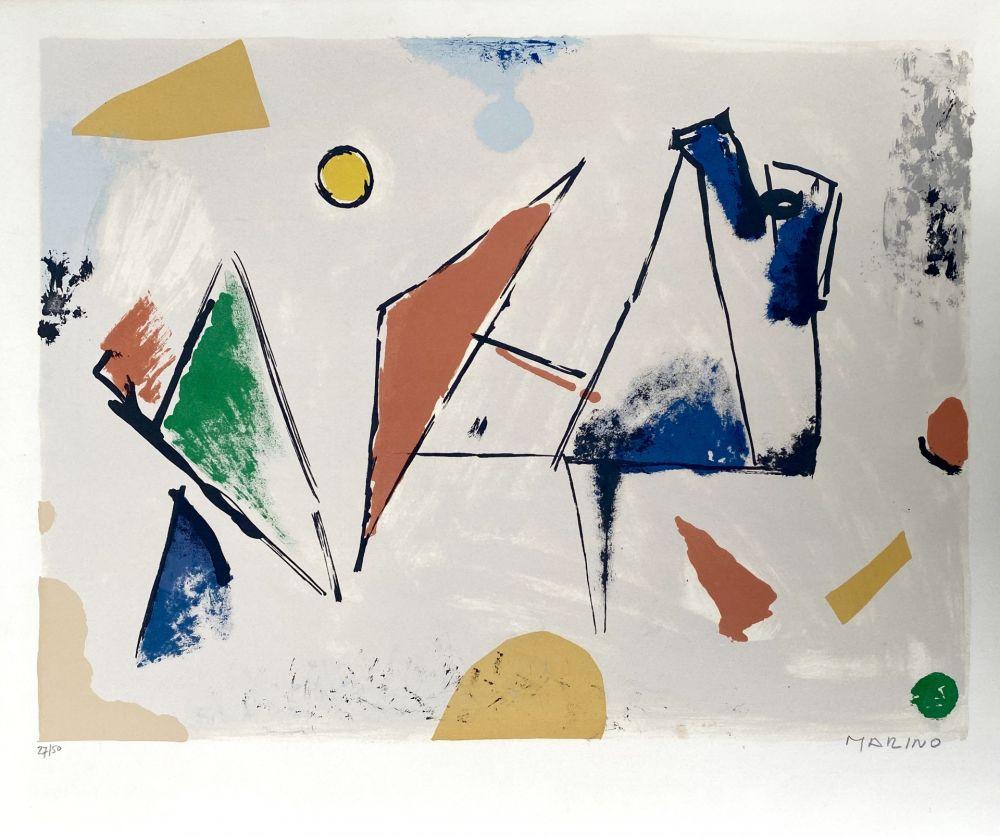 Litografía Marini -  From Color to Form VIII