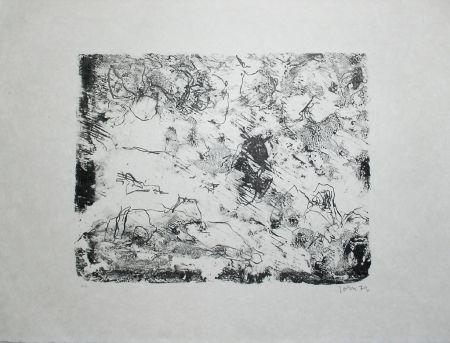 Litografía Jorn - From