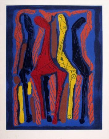 Aguatinta Marini - From Goethe series (1979)