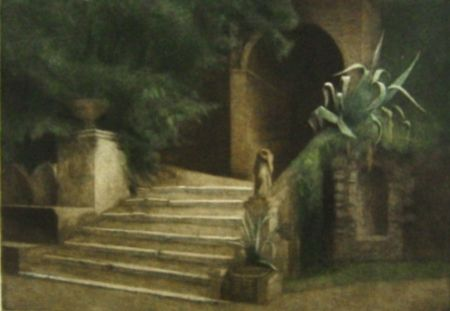 Manera Negra Ilsted - From the Garden of Villa d'Este