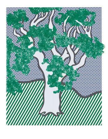 Serigrafía Lichtenstein - From the Portfolio Columbus