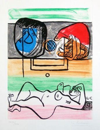 Aguafuerte Y Aguatinta Le Corbusier - From Unite Suite #11a