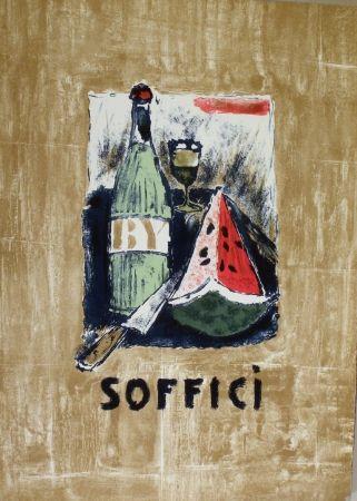 Litografía Soffici - Frontespizio