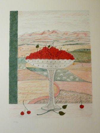 Litografía Girona - FRUITERA I CIRERES