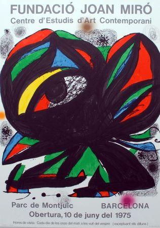 Litografía Miró - Fundació Joan Miró