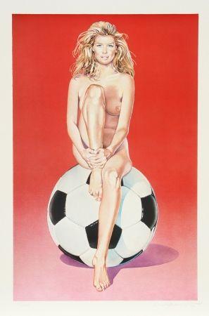Litografía Ramos - Fussball Fannie