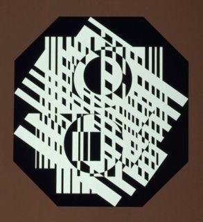 Serigrafía Vasarely - G-Linn