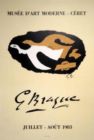Litografía Braque -  G Braque