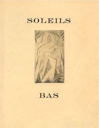 Libro Ilustrado Masson - G. Limbour : SOLEILS BAS (1924) Le premier livre illustré par André Masson