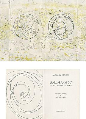 Libro Ilustrado Ernst - Galapagos - Les îles du bout du monde