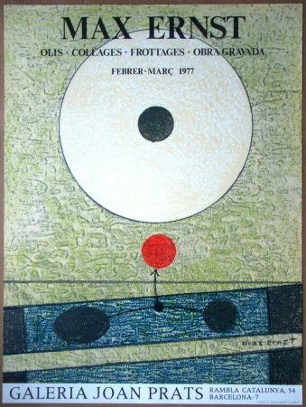 Litografía Ernst - Galeria Joan Prats
