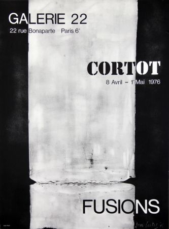 Litografía Cortot - Galerie 22