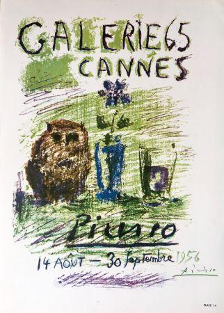 Litografía Picasso - Galerie 65 Book Plate (Hand Signed)
