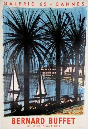 Litografía Buffet - Galerie 65 Cannes