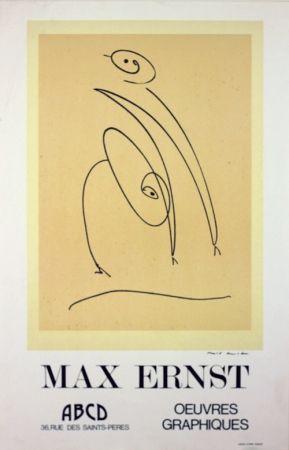 Litografía Ernst - Galerie A B C D