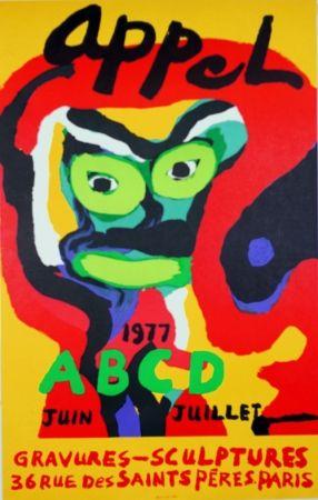 Litografía Appel - Galerie ABCD