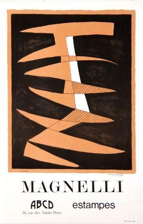 Litografía Magnelli - Galerie ABCD