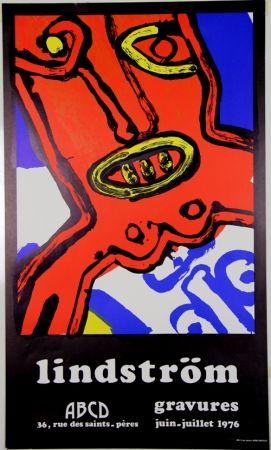Litografía Lindstrom - Galerie ABCD