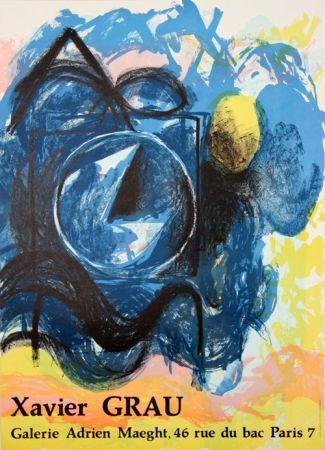 Litografía Grau - Galerie Adrien Maeght