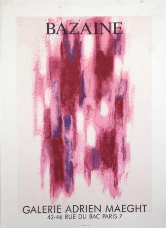 Litografía Bazaine - Galerie Adrien Maeght