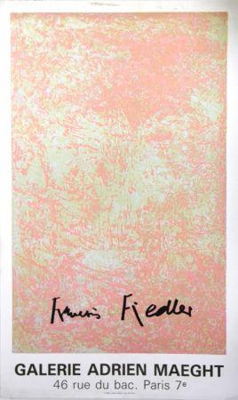 Litografía Fiedler - Galerie Adrien Maeght