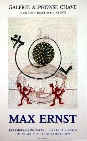Litografía Ernst - Galerie Alphonse Chave